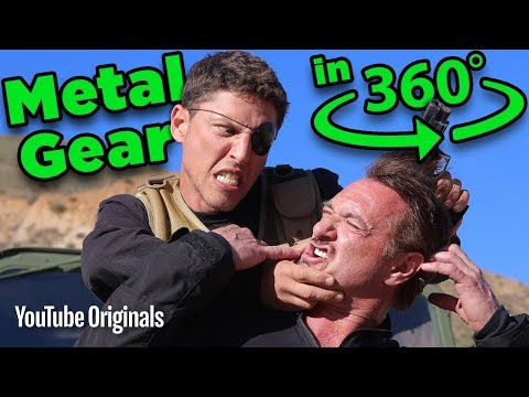 The Hunt for Solid Snake...in 360 (Metal Gear Solid) - Game Lab 360 Video