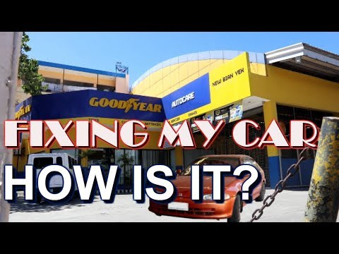 Fixing My Car @ Goodyear Auto Care Dumaguete (ft. Cold Lava Restaurant)