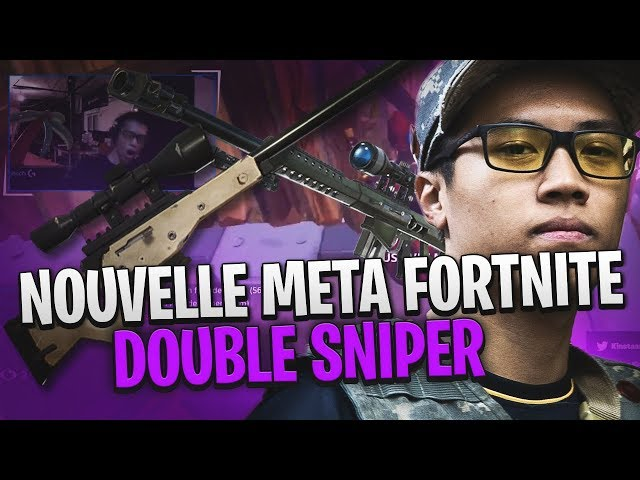NOUVELLE META FORTNITE: DOUBLE SNIPER