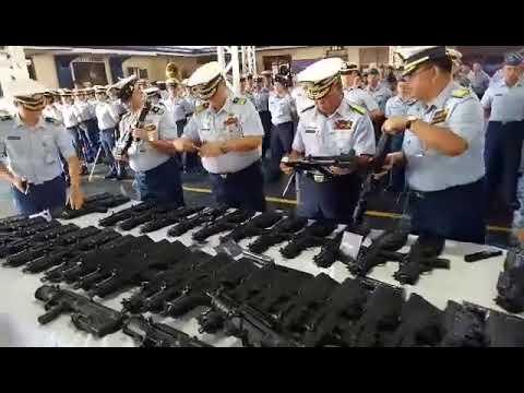 The Philippine Coast Guard (PCG) Received 70 Units of  Tavor X-95 Submachine Gun