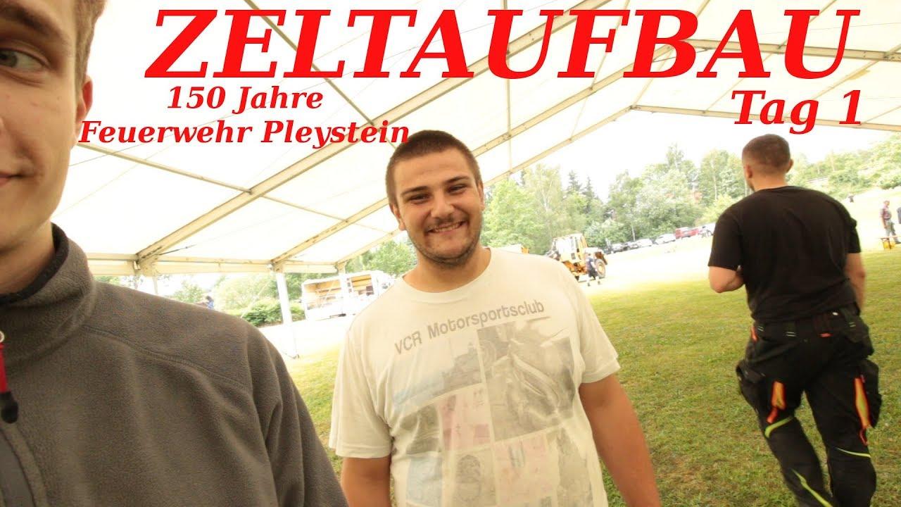 Festzelt Aufbau Tag 1/ Bavaria Blogger