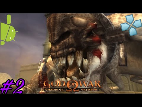 God Of War Chains Of Olypus Part 2 PPSSPP Play On Android
