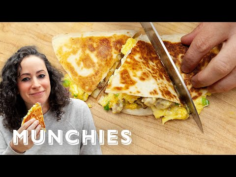 Breakfast Quesadillas – The Cooking Show with Farideh