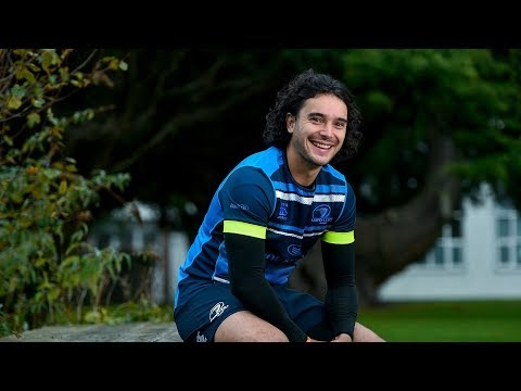 James Lowe arrives at Leinster Rugby!