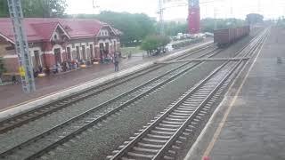 Маневровый тепловоз сбил мужчину на вокзале в Бердске