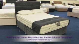 Hamilton And James Natural Pocket 1000 With Lunar Divan Base