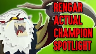 Rengar ACTUAL Champion Spotlight ft. Darkk Mane