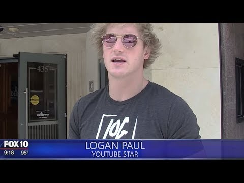 8 rs With HILARIOUS News Interviews! (Logan Paul, Casey Neistat, FaZe Rug, Pewdiepie)