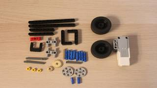 How to Build a LEGO Mindstorms Steering Mechanism