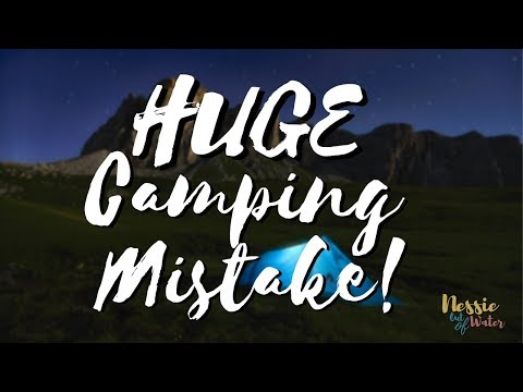 Camping Mistake in New Zealand   Funny Camping Story