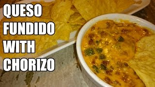 Queso Fundido With Chorizo/melted Cheese & Chorizo Dip