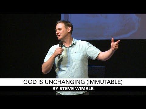 God Is Unchanging (Immutable)