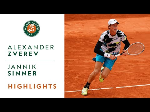 Alexander Zverev vs Jannik Sinner - Round 4 Highlights I Roland-Garros 2020