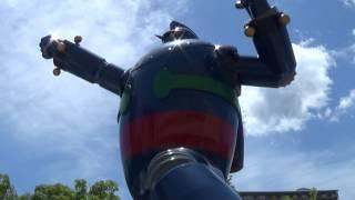 Hola a todos! Por fin fuimos a conocer el Tetsujin 28 (Conocido fuera de Japón como Gigantor o Iron Man 28) una estatua conmemorativa del Mecha creado por ...