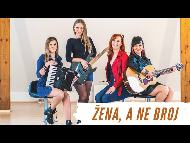 Žena, a ne broj - Skupina Chicas (Grupa Magazin cover)