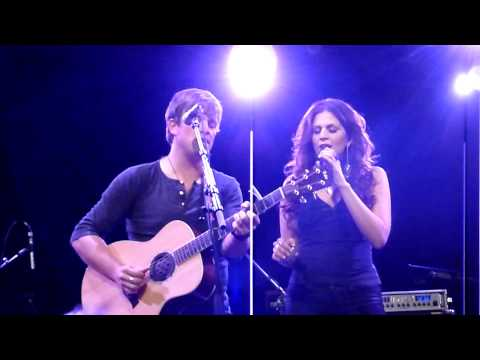 Dave Barnes w/ Hillary Scott - On A Night Like This (NYC 5/10/10)