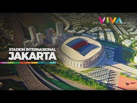 Segera Dibangun, Begini Penampakan Jakarta International Stadium
