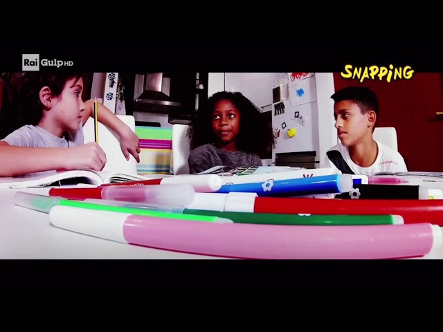 MATUMBÉ CAPOEIRA ROMA - SNAPPING - TV RAI GULP