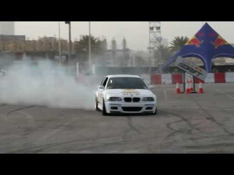 ABDO FEGHALI Red Bull Car Park Drift Damam Al Khubar 2012 (full HD)