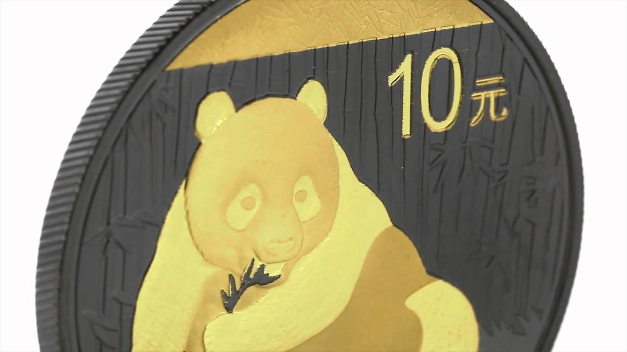 1 Unze China Panda Golden Enigma Edition