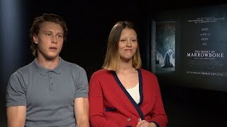 George Mackay, Mia Goth and Sergio G. Sanchez on The Secret of Marrowbone