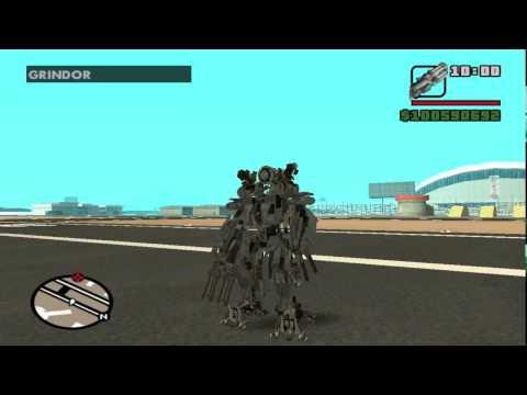 Transformers mod gta sa  (Air transformers)