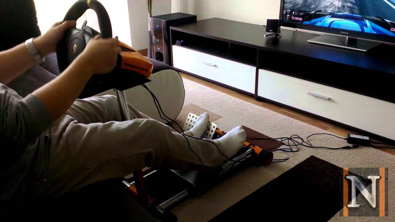 wheel stand pro gt3 deluxe v2 testrunde. Black Bedroom Furniture Sets. Home Design Ideas