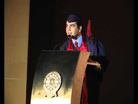 First IIPM Topper: Rachit Kapoor