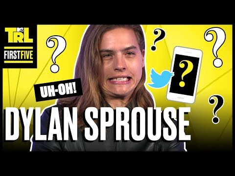Dylan Sprouse Explains His First Five Twitpics Ever  First Five  TRL Weekdays at 4pm