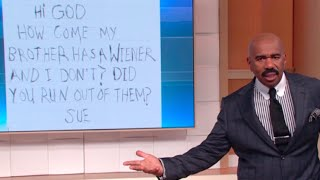 Kids letters to God! || STEVE HARVEY