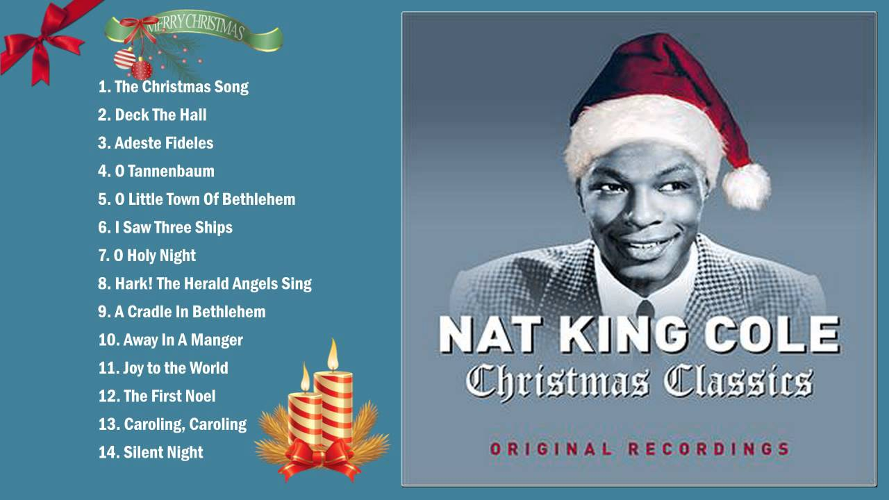 Nat King Cole Christmas Songs- Best Of Merry Christmas 2016 - YouTube