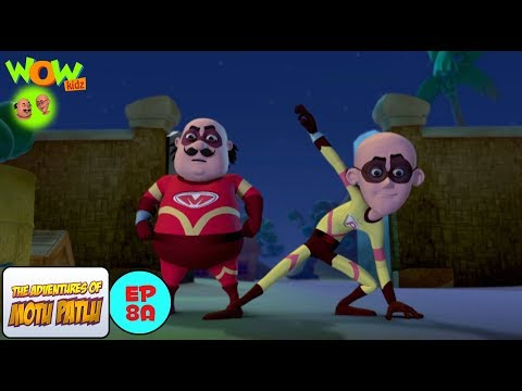 Super Duper Man - Motu Patlu in Hindi -  WITH ENGLISH SUBTITLES!