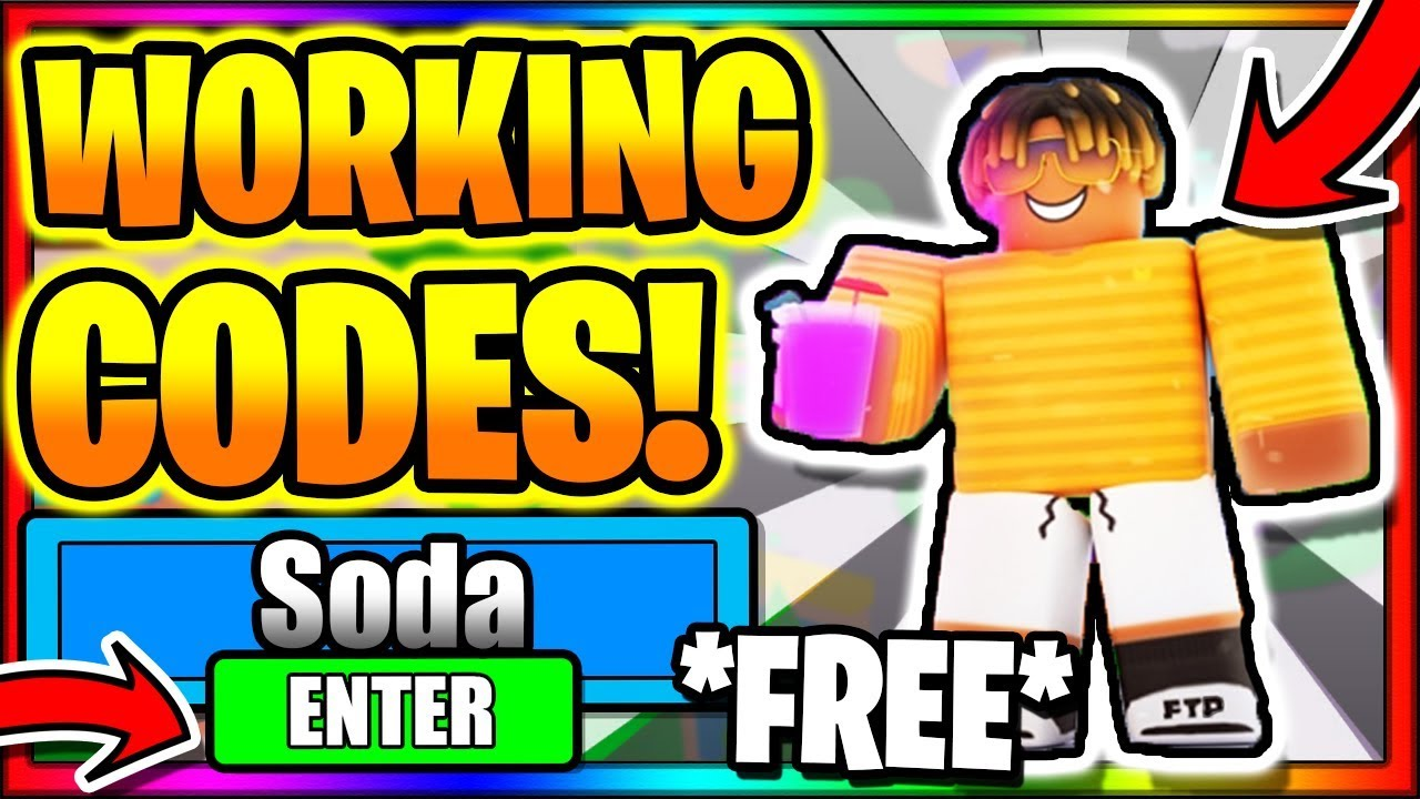 Soda Simulator Codes Roblox July 2020 Mejoress