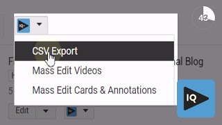 How to Export YouTube Channel Analytics in 60 Seconds