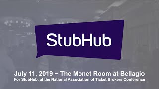 Jeff Civillico performs for StubHub and NATB event