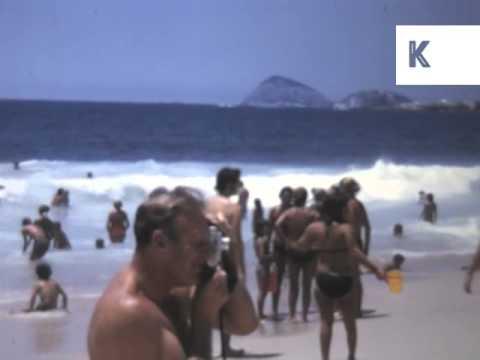1970s Rio De Janeiro, Copacabana, Brazil, Rare Home Movie Archive Footage
