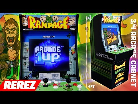 Arcade 1UP Rampage Midway Classic Arcade Review - Rerez
