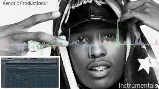 A$AP Rocky - Peso [Instrumental Remake]