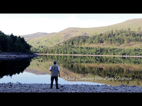 Wild Camping The Lake District - Bushcraft, Fishing, Overnighter.