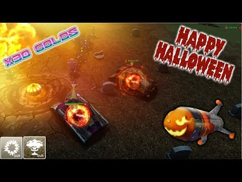 Tanki Online  - Special Halloween 2019 |  X30 Gold Boxes More ! + Golden Containers! | Танки Онлайн