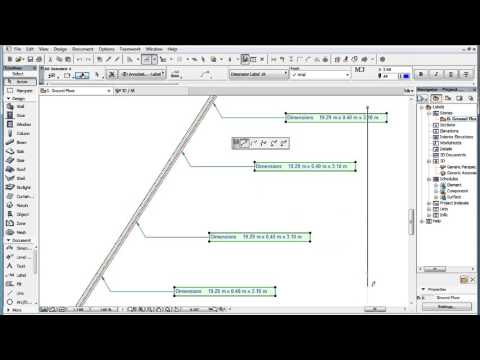 Aligning, Distributing and Adjusting Labels in ARCHICAD