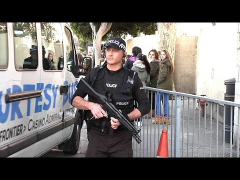 Security increased in Gibraltar