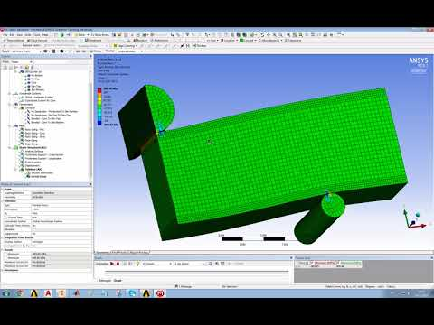 A simple model of a short beam test in ANSYS (Part 3)