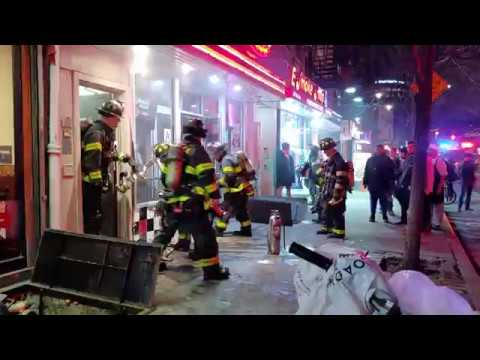 FDNY Responds to East Village Fire