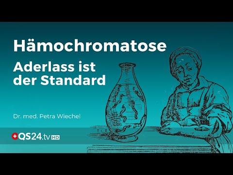 Hämochromatose – Aderlass ist der Standard