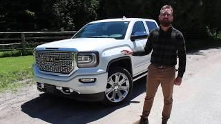 2018 GMC Sierra Denali Test Drive