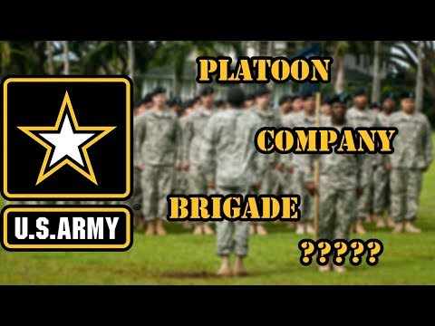 US Army Organization Terms