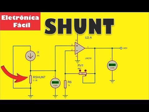 Resistor Shunt para Amperímetro! O que é e Como utilizar? Eletrônica Fácil