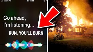 if Siri tells you this, you're in danger... (MUST SEE)