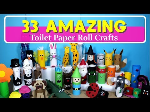 33 Amazing Toilet Paper Roll Crafts for Kids